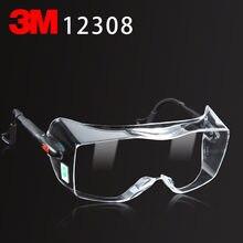 3M 12308 Multi-purpose 3M óculos de segurança óculos de segurança Genuína Pode ser usado óculos míopes proteger óculos
