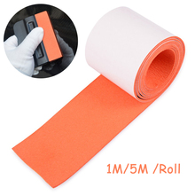 EHDIS 5M Vinyl Wrap Squeegee Spare Suede Felt Tape Window Tint Card Scraper Protector No Scratch Fabric Cloth Car Wrapping Tools