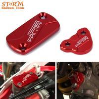 CNC Front Hinten Bremse Reservoir Flüssigkeit Abdeckung Für CRF150R CR125R CR250R CRF250X CRF 150R 250X CRF450R CRF450X Motocross 2002-2020