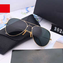 Men Glasses Pilot sports sunglasses Women polarized Glass le