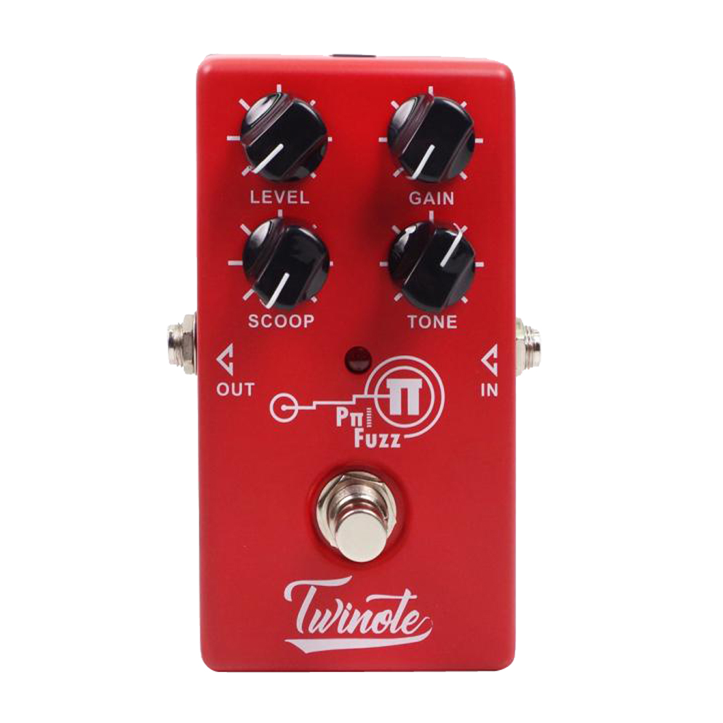 Modern FUZZ Effects Pedal Effector True Bypass Effector True Bypass Red image