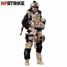 Nfstrike 30 センチメートル 1/6 可動調査チームレンジャーフィギュア軍事兵士モデル高品質アクションフィギュア兵士モデル