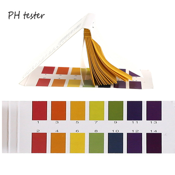 80 Strips/1set Ph Paper Test Universal 1-14 PH Range Litmus Paper Strips Urine Saliva Water Cosmetics Soil Acidity Test Tools image