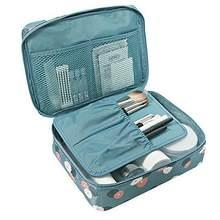 Saco cosmético organizador à prova dwaterproof água portátil maquiagem saco de viagem moda mulher necessidade beleza caso lavagem bolsa de armazenamento