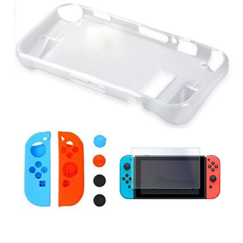 Купить с кэшбэком Nintend Switch NS Joycon Soft TPU Hand Grip Protection Case Skin Shell Cover Handle Holder For Nintendo Switch Nitendo Console