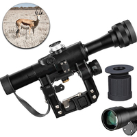 SVD 4x24 PSO Type Riflescope SVD Sniper Rifle Series AK Rifle Scope for Hunting Sight For AK47