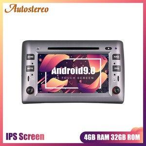 Navegação gps do reprodutor de dvd do carro de android 9 para fiat stilo 2002-2010 rádio do carro estéreo multimídia player rádio gravador de fita unidade central