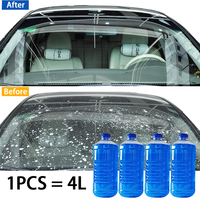 5 unids/set  herramienta de limpieza líquida para lavado de coches  tabletas efervescentes para agua de vidrio  esencia de detergente potente para invierno|Líquido de lavado de coche|   -
