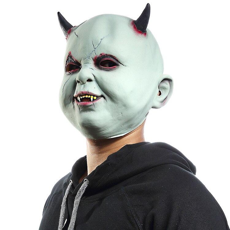 Little Devil Vampire Halloween Mask Horror  Clown Scary Masquerade Masks Zombie House