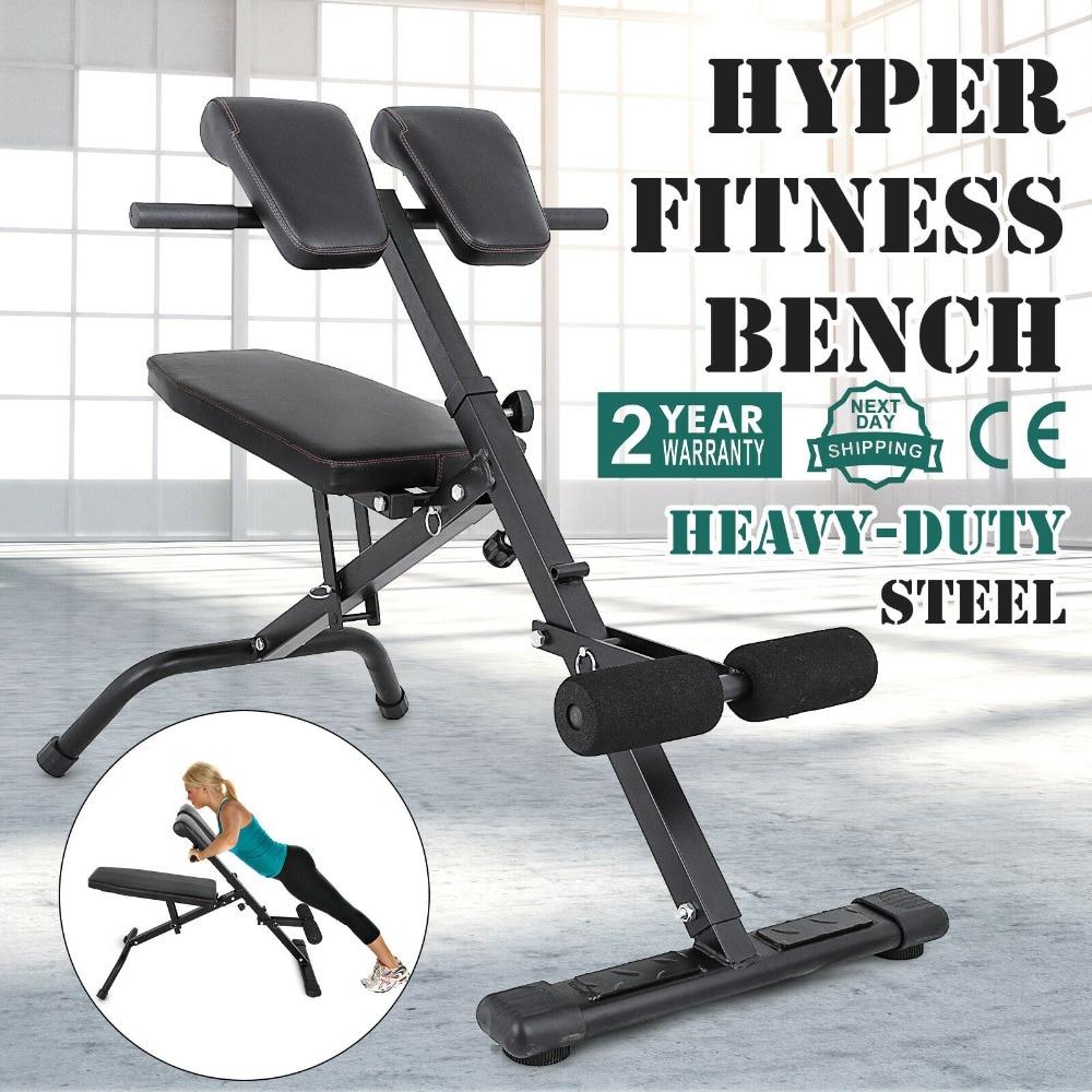 Fabulous Friendly Design Adjustable Hyper Extension Back Bench Roman Chair Gym Use Fitness Training Creativecarmelina Interior Chair Design Creativecarmelinacom