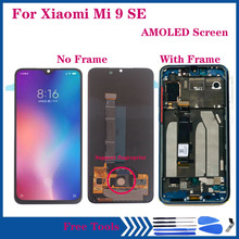 Amoled Display For Xiaomi Mi 9 SE LCD Touch Screen Support fingerprint 10 Touch For Xiaomi Mi9 SE Mi 9SE M1903F2G LCD