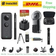 Insta360 ONE X Cámara de Acción VR Insta 360 para IPhone y Android 5,7 K, vídeo, foto de 18MP con batería