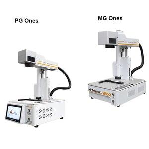 Image 2 - PG diejenigen/MG Diejenigen LCD Laser Reparatur Maschine Für iPhone 11/X/ XS Max /8 /8 + zurück Glas Trennung Laser Gravur Maschine