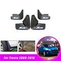 4 шт. передние и задние брызговики для автомобиля крыло брызговиков Брызговики для Ford Fiesta хэтчбек 2009-2016