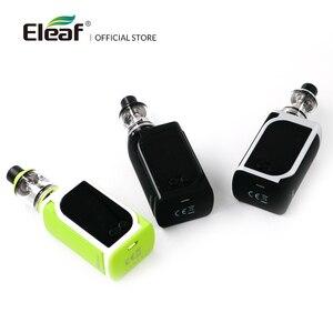 Image 3 - [RU/ES] Originale Eleaf iStick Kiya Kit Con GS Juni Costruito in 1600mAh VS iStick Tria 0.75/1.5ohm GS Air Coil Sigaretta Elettronica
