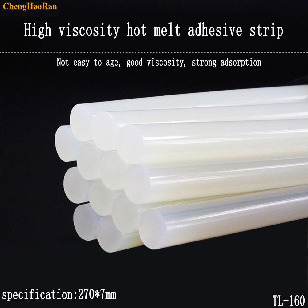Hot Melt Glue Stick 7mm Strong Transparent Hot Melt Glue Glue Gun Manual DIY High Viscosity Fast Melting High Temperature
