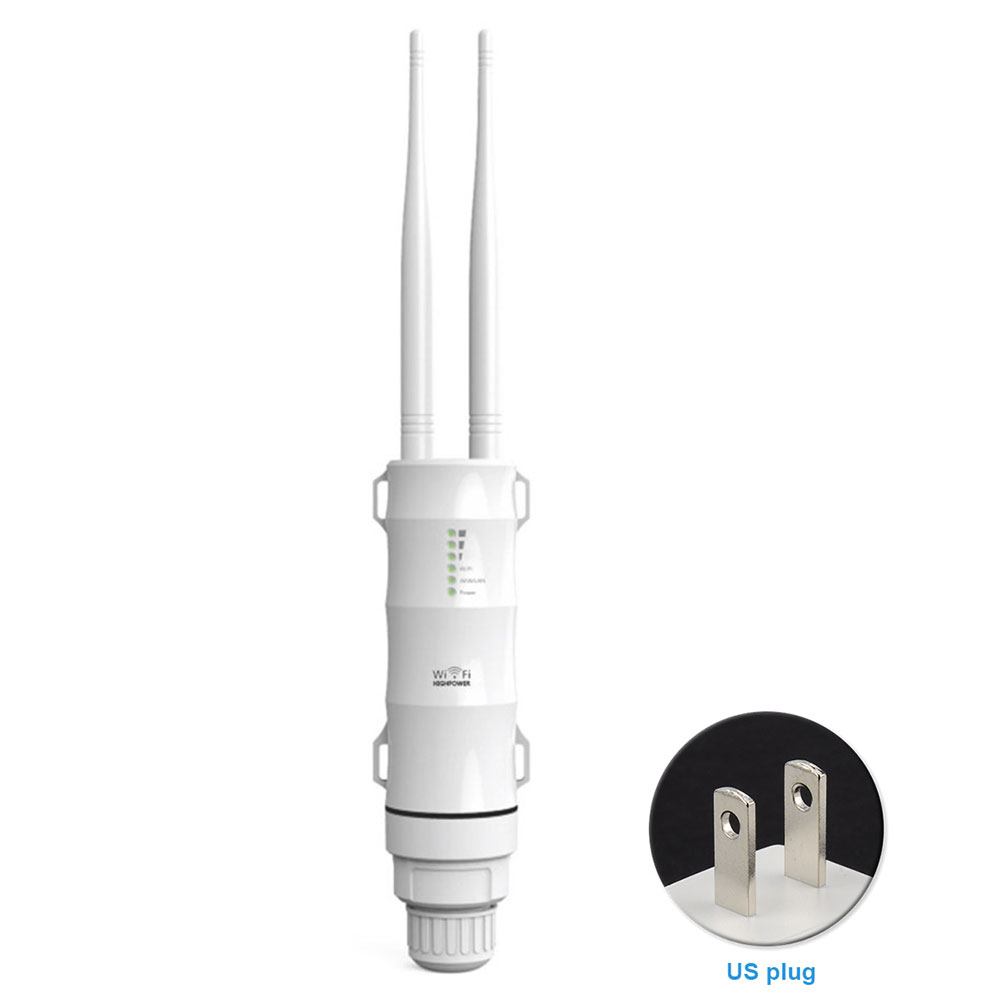 AC600 Outdoor Wifi Router ABS Universal Easy Install Stable Wireless 2.4G 5G Dual Dand Waterproof Antenna High Power Repeater