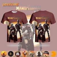STAR WARS T-shirt The Mandalorian Streetwear WHOSONG 3D T shirt 2020 Popular Hot Sale Tshirt Boys Men Round Collar Funny Clothes