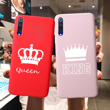Queen King Candy Silicone Phone Case For Xiaomi Mi A3 Funda Coque CC9e Play 5X 6X A1 A2 8 Lite 9 SE Mix 2S Pocophone F1 Cover