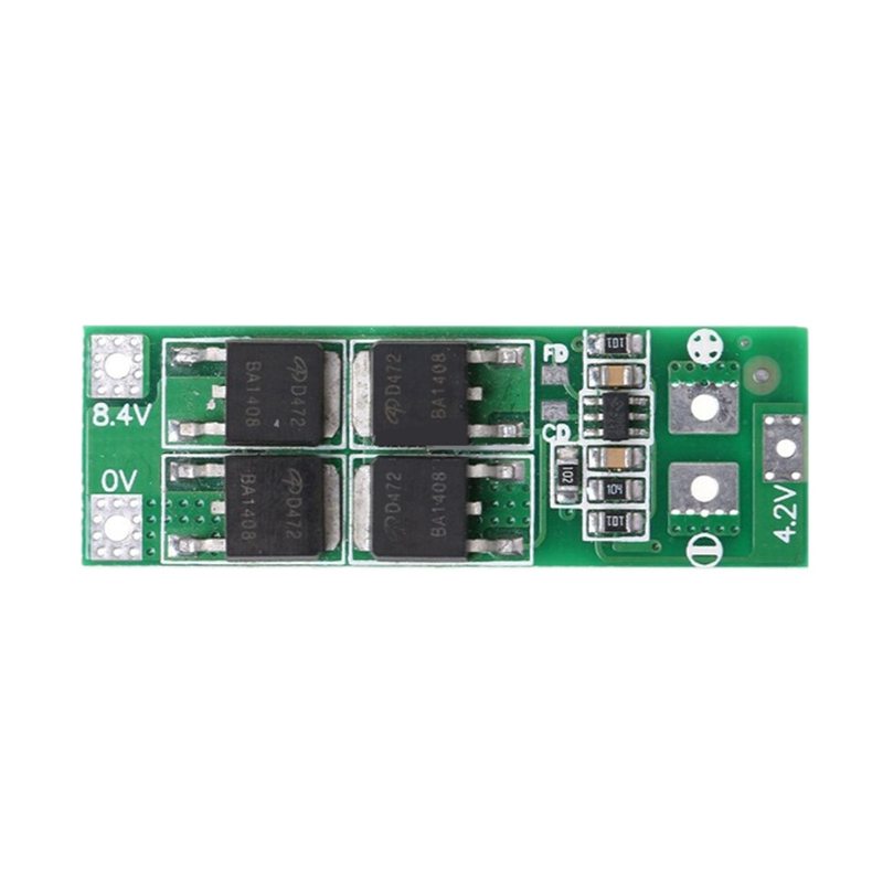 2S 20A 7.4V 8.4V 18650 Lithium Battery Protection Board/Bms Board Standard