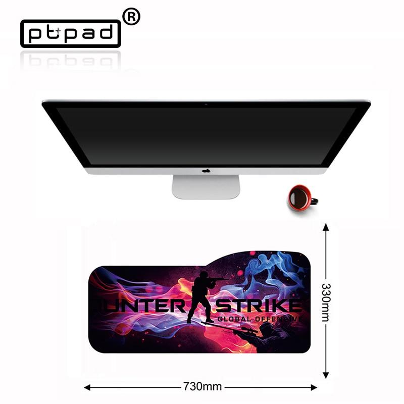 730*330*3mm bord de verrouillage personnalisé grand jeu CS GO ordinateur tapis de souris clavier ordinateur portable tablette bureau tapis tapis de souris tapis de souris