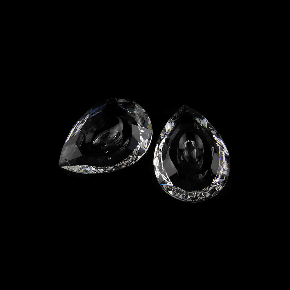 10Pcs 6Pcs Jelas Lengkeng Prisma Kaca Lampu Gantung Liontin Kristal Lampu Bagian untuk Dekorasi Pernikahan Gratis Pengiriman