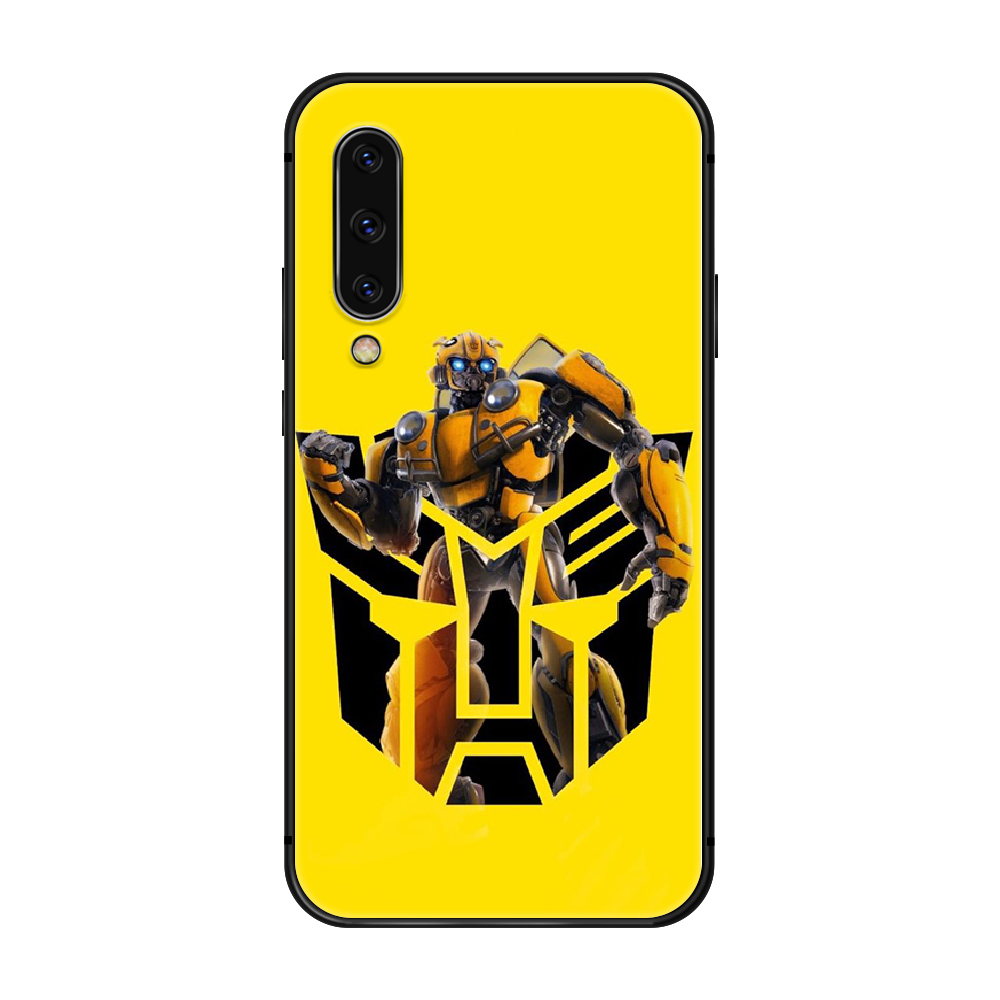 Bumblebee Transformers Phone Case Cover For Samsung Galaxy A10 A20 A30 E A40 A50 A51 A70 A71 J 5 6 7 8 S black coque trend prime
