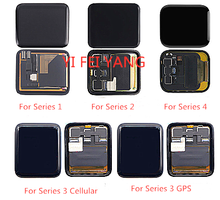 LCD display Touch Screen Digitizer Assembly Reparatur Teil Für Apple uhr Serie 1 2 3 38mm 42mm 4 40mm 44mm Display