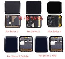 LCD ekran ekran dokunmatik ekran Digitizer meclisi onarım bölümü Apple için İzle serisi 1 2 3 38mm 42mm 4 40mm 44mm ekran