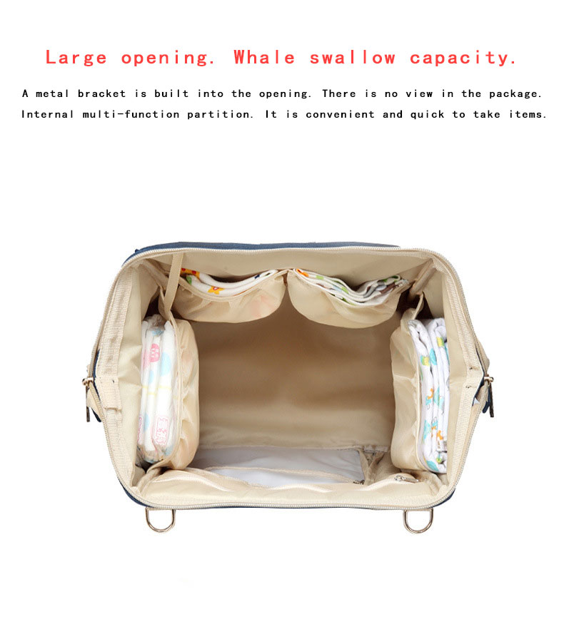 Hf17286fa847d442298bf24a73e787588q Fashion Mummy Maternity Nappy Bag Waterproof Diaper Bag With USB Stroller Travel Backpack Multi-pocket Nursing Bag for Baby Care