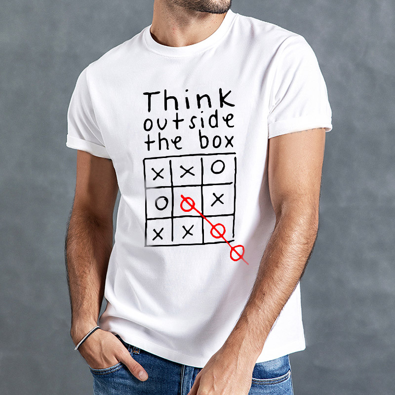 Summer Tshirts Men Funny T-shirt Men O-neck Short Sleeve Leisure Casual Tees Outdoor Sports Style Top Cute Print Men Shirts