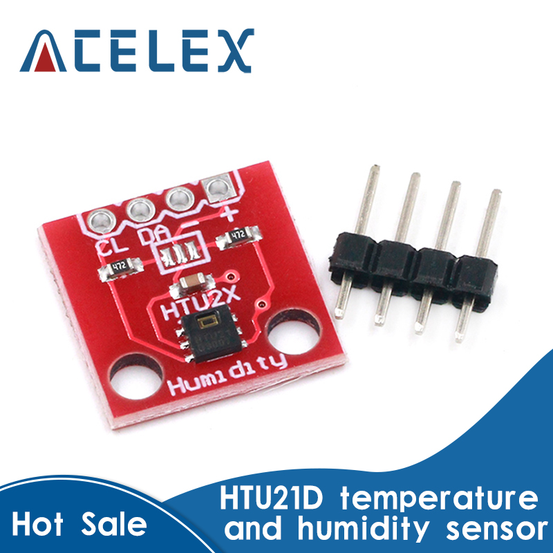 Temperature and humidity sensor HTU21D sensor module|Tool Parts|   - AliExpress