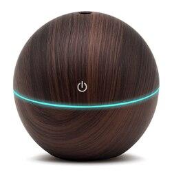 Elektryczny Aroma dyfuzor olejków eterycznych 300ml USB Mini ultradźwiękowy nawilżacz powietrza mgła aromaterapeutyczna Maker dla Home Office w Nawilżacze powietrza od AGD na