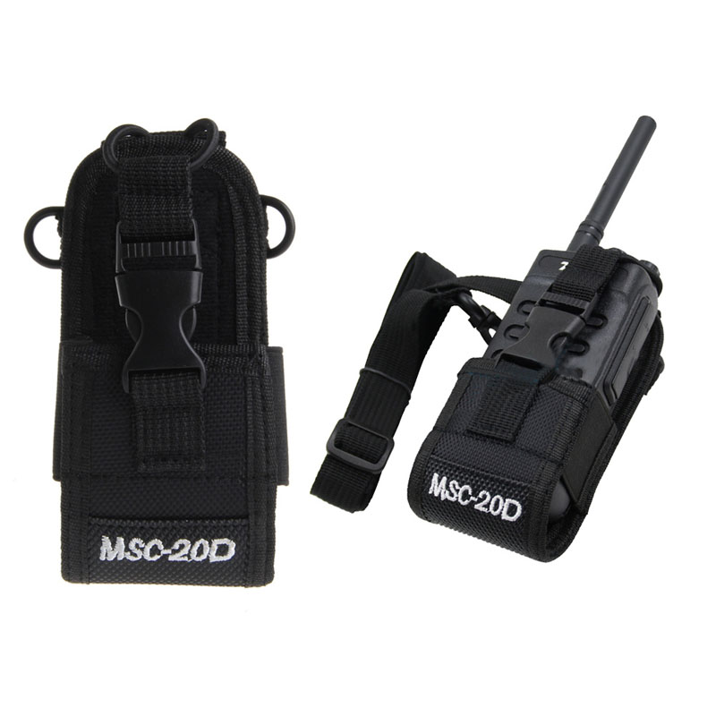 2019 New MSC-20D Radio Case Holder For Baofeng UV3R+Plus Puxing PX-777 Plus PX888 K A194 X6hb