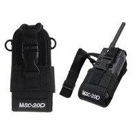 עבור baofeng MSC-20D רדיו Case מחזיק עבור Baofeng UV3R + פלוס PUXING PX-777 פלוס PX888 K A194 (1)