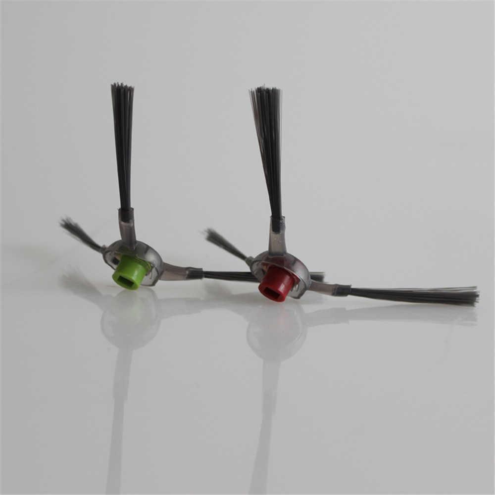 2 unids/lote de cepillos de repuesto laterales para Ecovacs Deebot DE55 DE6G DD33 DJ35 piezas de aspiradora robótica