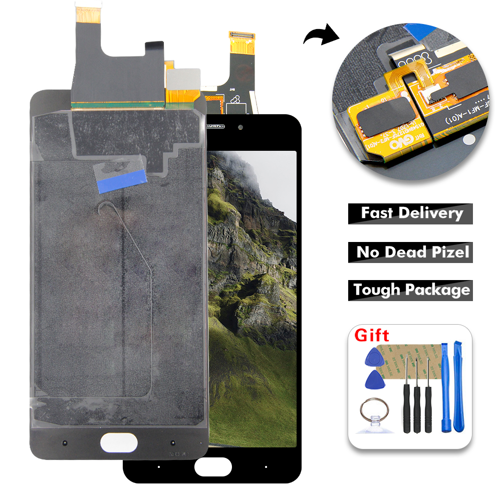 """5.5"""" LCD For ZTE Nubia N2 NX575j LCD Display Digitizer Touch Panel Screen Assembly + Free Tools(China)"""