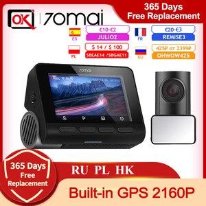Image 1 - 70mai A800 4K A800S Built In GPS ADAS Ultra HD UHD ความละเอียด2160P กล้องด้านหลังที่จอดรถ Monitior 70mai DVR SONY IMX415 140FOV