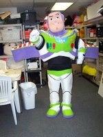 Buzz Lightyear Mascot Cartoon Fancy Dress Mascot Costume Adult Character Cosplay Mascot Costume