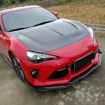 Carbon Fiber Front Bumper Lip Side Skirts Door Aprons Rear Diffuser Rear Lip Splitters Body Kit For Toyota GT86 FT86 2012-2020 image