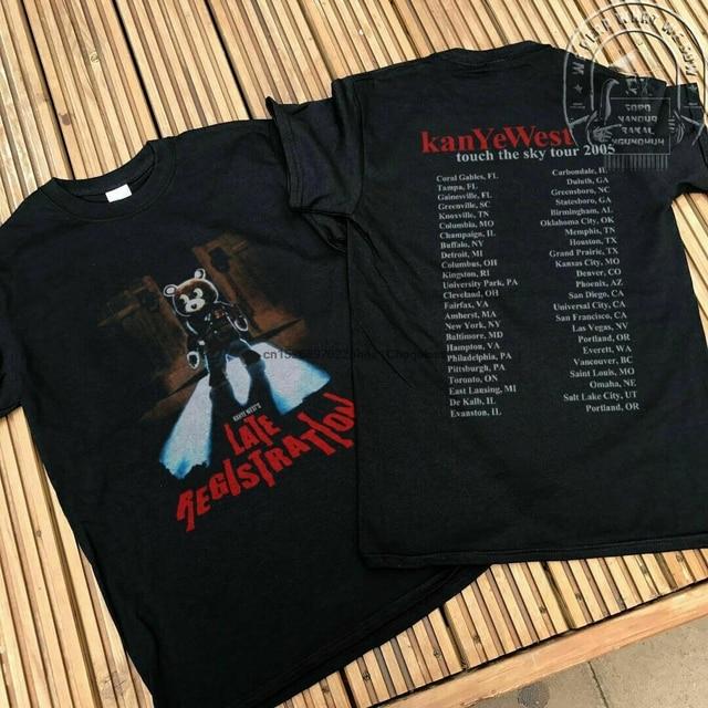 Kanye West Late Registration tour concert T-Shirt  1