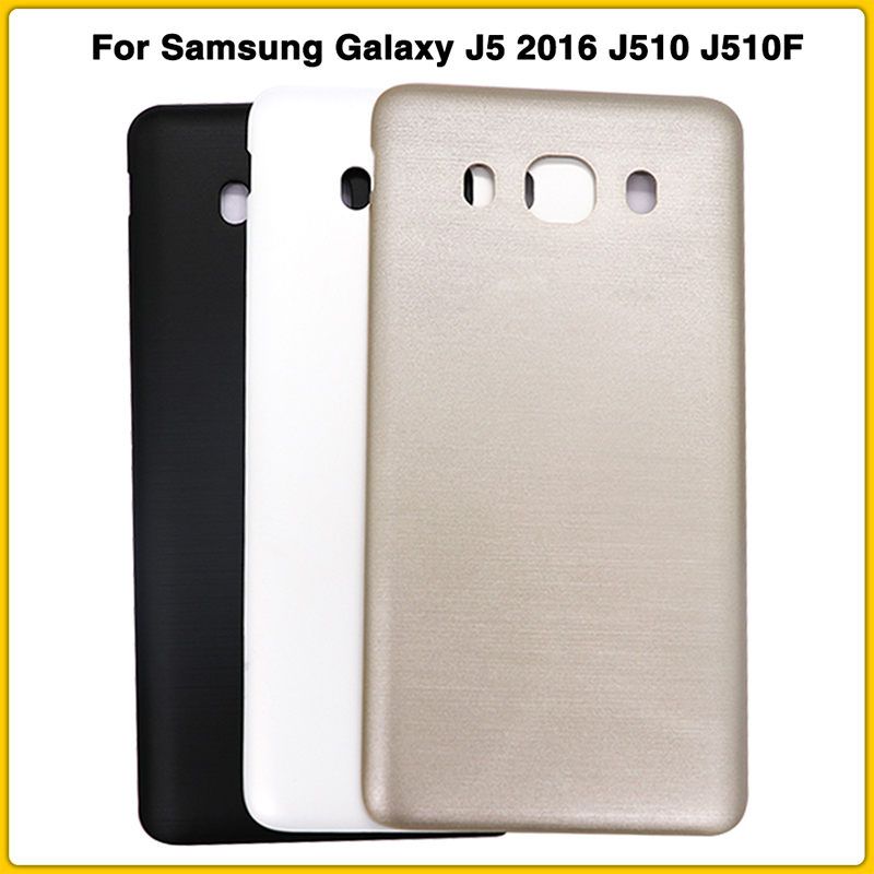 New J510 Rear Housing Case For Samsung Galaxy J5 2016 J510 J510F J510FN J510H J510G Battery Cover Door Rear Back Cover