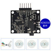 AD8232 ECG Sensor Bioelectric Signal Acquisition Development Kit HRV Health Measurement Heart Rate Monitoring|Building Automation| |  -