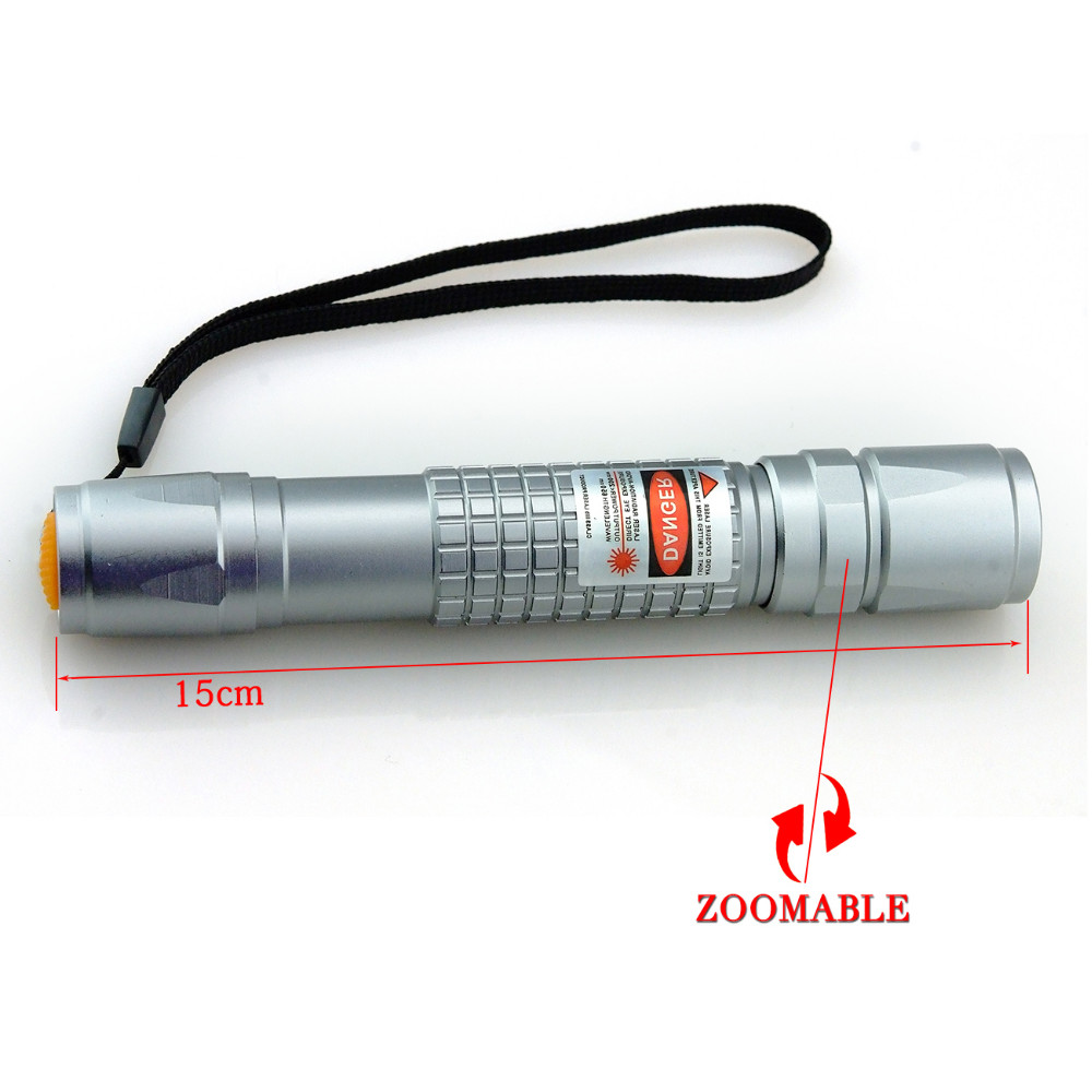Qiying 450nm 3000m adjustable focus burning blue laser pointer star pointer torch for outdoor camping gift teaching