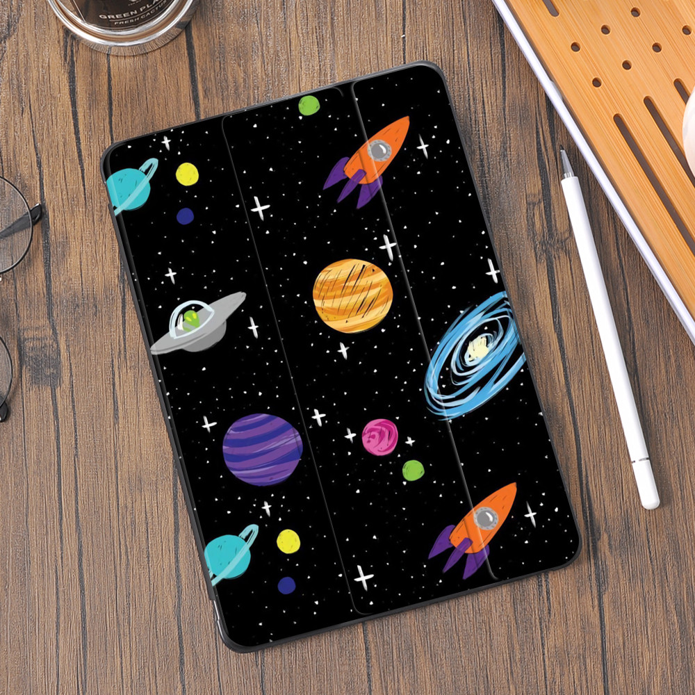 Espaço sonho para ipad pro 12.9 caso 2018 ar 4 tablet suporte de lápis capa pro 11 funda 10.2 8th 2020 7th mini 5 ar 2 10.5