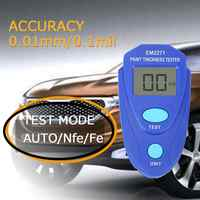 EM2271 0 ~ 2,0mm Digitale Mini Beschichtung Dicke Gauge Auto Film Zink Farbe Dicke Meter Farbe Dicke tester Dicke gauge