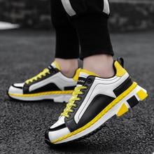 Brand Men's Fashion Sneakers Casual Shoes Men Comfortable Hi