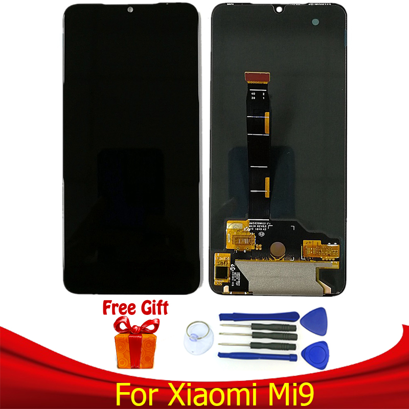 Original AMOLED For <font><b>Xiaomi</b></font> <font><b>Mi9</b></font> <font><b>Display</b></font> LCD Screen Replacement for <font><b>Xiaomi</b></font> <font><b>MI9</b></font> lcd <font><b>display</b></font> touch screen Digitizer Assembly module image