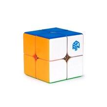 ألعاب تعليمية احترافية للأطفال أصلية غان 249 V2 M 2x2x2 أُحجية مكعبات سحرية مغناطيسية سرعة Cubo Magico Gan 2x2 Air