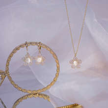 14k Real Gold Luxury Delicate Full Diamond Flower Women Necklace Temperament Simple Micro Inlaid Zircon Choker Wedding Colar